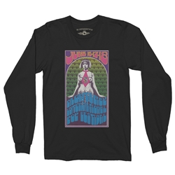 Monterey Pop Festival Concert Poster Long Sleeve T-Shirt