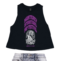 Ltd. Edition Monterey International Pop Festival Racerback Crop Top