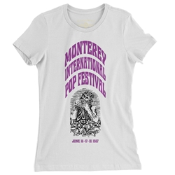 Ltd. Edition Monterey International Pop Festival Ladies T Shirt