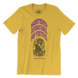 Ltd. Edition Monterey International Pop Festival T-Shirt - Lightweight Vintage Style