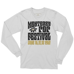 Monterey Pop Festival Flower Long Sleeve T-Shirt
