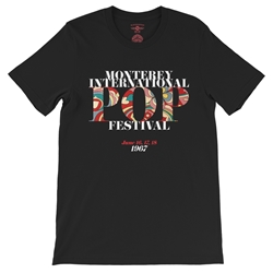Small Batch Monterey Pop Festival T-Shirt - Hippie Edition - Lightweight Vintage Style