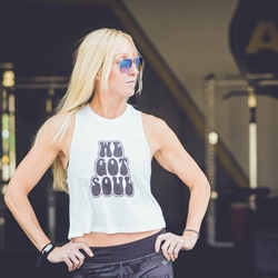 We Got Soul Racerback Crop Top - Women's