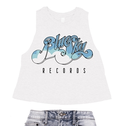 Blue Sky Records Racerback Crop Top - Women's