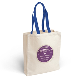 Trumpet Records Vinyl Record Tote