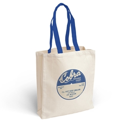 Cobra Records Vinyl Record Tote