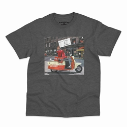 Bo Diddley Have Guitar Will Travel T-Shirt - Classic Heavy Cotton