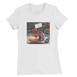 Bo Diddley Have Guitar Will Travel Ladies T Shirt