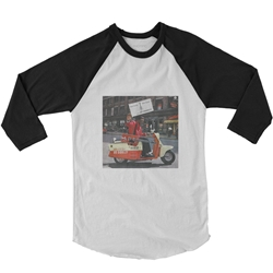 Bo Diddley Have Guitar Will Travel Raglan Baseball Tee