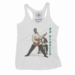 1958 Bo Diddley Racerback Tank - Women's