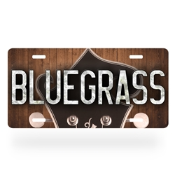 Bluegrass License Plate