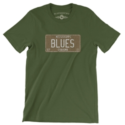 Mississippi Blues T Shirt