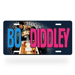 Bo Diddley License Plate - Aluminum