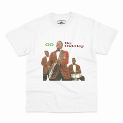 Bo Diddley T-Shirt - Classic Heavy Cotton