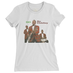 Ladies Bo Diddley T Shirt
