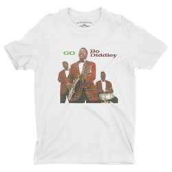 Bo Diddley T-Shirt - Lightweight Vintage Style