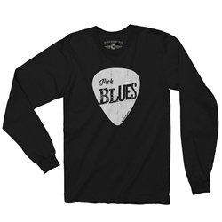Pick Blues Long Sleeve T Shirt