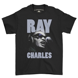 Ray Charles T-Shirt - Classic Heavy Cotton