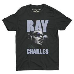 Ray Charles T-Shirt - Lightweight Vintage Style