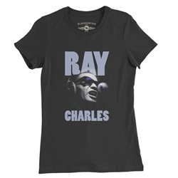 Ray Charles Ladies T Shirt