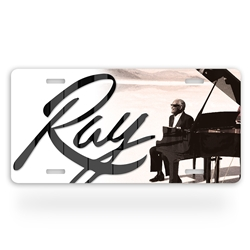 Aluminum Ray Charles License Plate