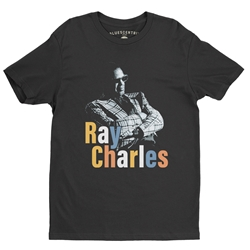 Ray Charles Stereo T-Shirt - Lightweight Vintage Style