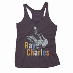 Ray Charles Stereo Racerback Tank - Women's