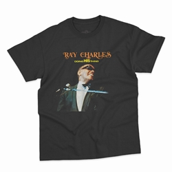 Ray Charles Doing His Thing T-Shirt - Classic Heavy Cotton