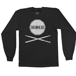 Drumhead Long Sleeve T Shirt