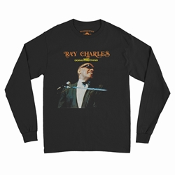 Ray Charles Doing His Thing Long Sleeve T-Shirt