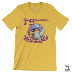 Jimi Hendrix Are You Experienced Album T-Shirt - Lightweight Vintage Style | Authentic Hendrix