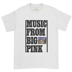 The Band Music From Big Pink T-Shirt - Classic Heavy Cotton