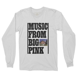 The Band Music From Big Pink Long Sleeve T-Shirt