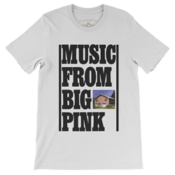 The Band Music From Big Pink T-Shirt - Lightweight Vintage Style
