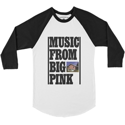 The Band Music From Big Pink Baseball T-Shirt