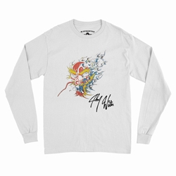Johnny Winter Screamin Demon Tattoo Long Sleeve T-Shirt