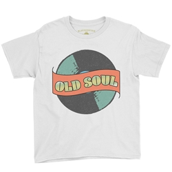 Old Soul Youth T-Shirt - Lightweight Vintage Children & Toddlers