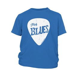 Pick Blues Youth T-Shirt - Lightweight Vintage Children & Toddlers