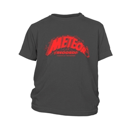 Meteor Records Youth T-Shirt - Lightweight Vintage Style