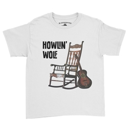 Howlin Wolf Rockin Chair Youth T-Shirt - Lightweight Vintage Style