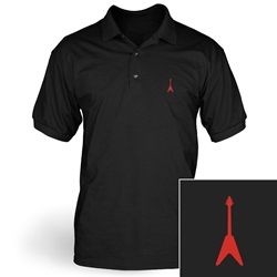Flying V Guitar Polo
