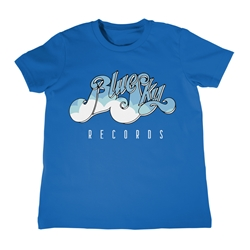 Blue Sky Records Youth T-Shirt - Lightweight Vintage Children