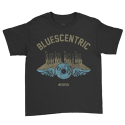 Bluescentric Brand Youth T-Shirt - Lightweight Vintage Children
