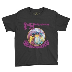 Jimi Hendrix Are You Experienced Youth T-Shirt - Lightweight Vintage Children & Toddler