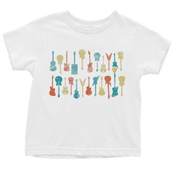 Guitar Stack Youth T-Shirt - Lightweight Vintage Children