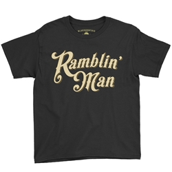 Ramblin Man Youth T-Shirt - Lightweight Vintage Children & Toddlers
