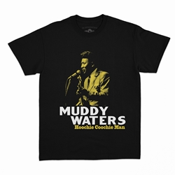 Muddy Waters Hoochie Coochie Man T-Shirt - Classic Heavy Cotton