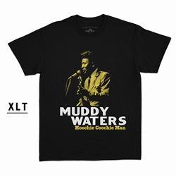 Muddy Waters Hoochie Coochie Man  XLT  T-Shirt - Men's Big & Tall