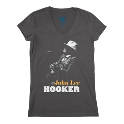 John Lee Hooker V-Neck T Shirt - Women's