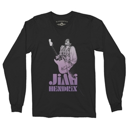 Ltd. Ed. 1968 Jimi Hendrix Long Sleeve T-Shirt